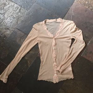 Only Hearts NYC sheer cardigan